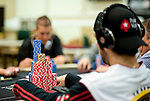Team Pokerstars Pro Jason Mercier and his stack
