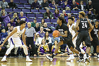 SEATTLE, WA - DECEMBER 11:  Nevada's Lindsey Drew against Washington.  Nevada defeated Washington 87-85 at Alaska Airlines Arena in Seattle, WA.