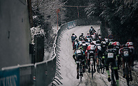 Junior Men's Race start<br /> <br /> CX Vlaamse Druivencross Overijse 2017