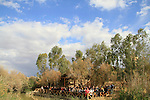 Jordan Valley, the Jordanian side of the Jordan River in Qasr al Yahud