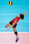 25.08.2018, …VB Arena, Bremen<br />Volleyball, LŠ&auml;nderspiel / Laenderspiel, Deutschland vs. Niederlande<br /><br />Angriff Melanie Schšlzel / Schoelzel (#14 GER)<br /><br />  Foto &copy; nordphoto / Kurth