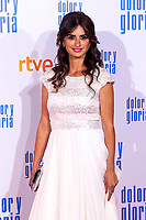 Penelope Cruz attends the movie premiere of 'Dolor y gloria' in Capitol Cinema, Madrid 13th March 2019. (ALTERPHOTOS/Alconada)<br /> Foto Alterphotos / Insidefoto<br /> ITALY ONLY