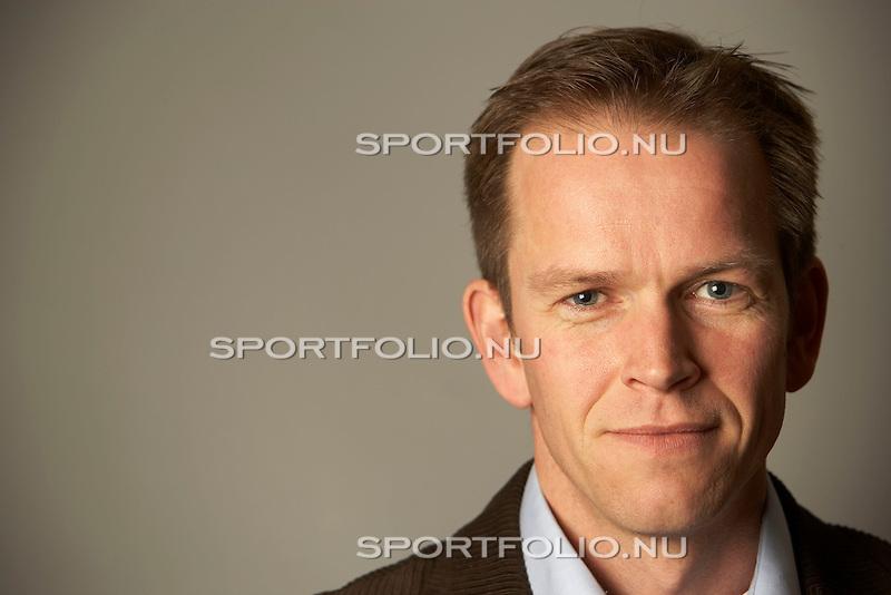 Nederland, Amsterdam, 7 februari 2007 .Richard Plugge .Nieuwe hoofdredacteur van Sportweek