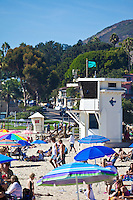 Summer Time at Main Beach in Laguna Beach California