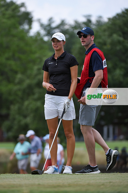 Esther Henseleit (GER) looks over her tee shot on 2 during round 2 of the 2019 US Women's Open, Charleston Country Club, Charleston, South Carolina,  USA. 5/31/2019.<br /> Picture: Golffile | Ken Murray<br /> <br /> All photo usage must carry mandatory copyright credit (© Golffile | Ken Murray)