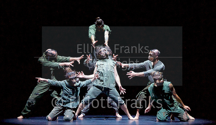 Sadler's Wells Sampled <br /> at Sadler's Wells, London, Great Britain <br /> press photocall / rehearsals <br /> 2nd February 2017 <br /> <br /> <br /> Sinestesia<br /> Iron Skulls Co<br /> <br /> <br /> <br /> <br /> Photograph by Elliott Franks <br /> Image licensed to Elliott Franks Photography Services