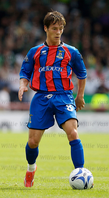 Ian Black, Inverness Caledonian Thistle.stock season 2006-2007.pic willie vass