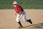 MADISON, WI - APRIL 17: Cather Joey Daniels #3 of the Wisconsin Badgers softball team runs against the University of Illinois-Chicago at Goodman Diamond on April 17, 2007 in Madison, Wisconsin. (Photo by David Stluka)