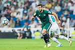 Antonio Barragan Fernandez of Real Betis in action during the La Liga 2017-18 match between Real Madrid and Real Betis at Estadio Santiago Bernabeu on 20 September 2017 in Madrid, Spain. Photo by Diego Gonzalez / Power Sport Images