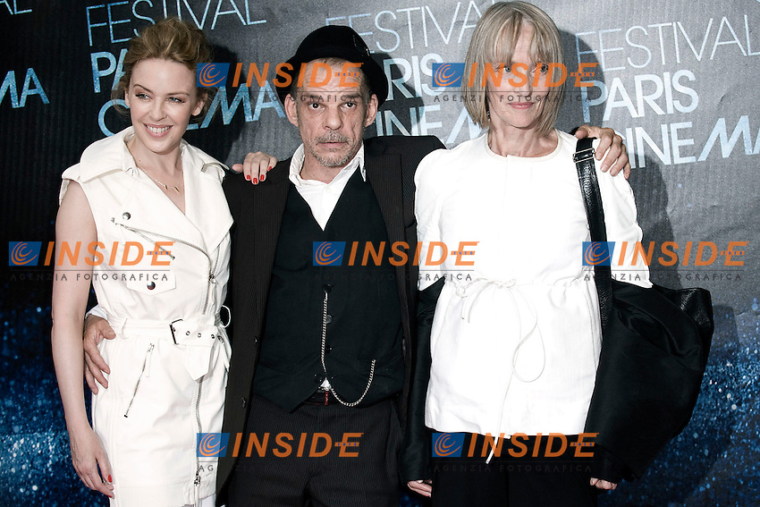 Kylie Minogue - Denis Lavant - Edith Scob.Parigi 28/06/2012 Festival del Cinema .Foto Insidefoto/JB Autissier / Panoramic.ITALY ONLY
