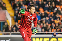 Diego Alves at match