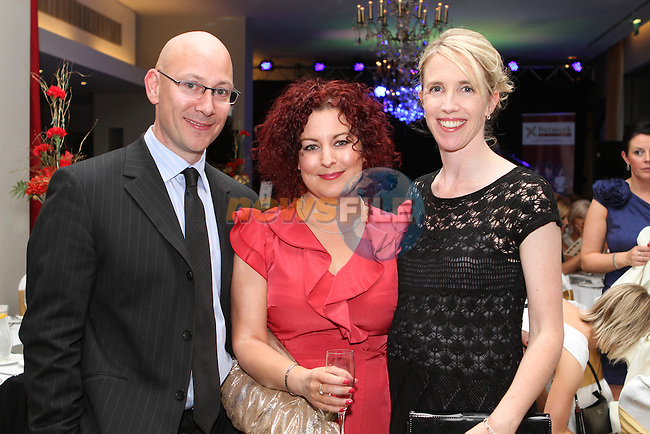 Paul Connor, Orlagh Finegan, Pixelpool Design and Denise Fay, Achieve Marketing at the Network Ireland National Conference and Business Women of the Year Awards 2012 - Friday 28th September in Drogheda, Co. Louth..Photo NEWSFILE/Jenny Matthews.
