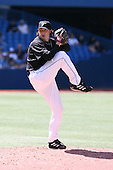 May 25th 2008:  Pitcher Scott Downs (37) of the Toronto Blue Jays during a game at the Rogers Centre in Toronto, Ontario, Canada .  Photo by:  Mike Janes/Four Seam Images