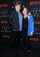 09 April 2018 - Hollywood, California - Mark Hamil, Marilou York. NETFLIX's &quot;Lost in Space&quot; Season 1 Premiere Event held at Arclight Hollywood Cinerama Dome. <br /> CAP/ADM/BT<br /> &copy;BT/ADM/Capital Pictures