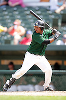 August 9, 2009: Rossmel Perez (9) of the South Bend Silver Hawks at Covelski Stadium in South Bend, IN. The Silver Hawks are the Low class affiliate of the Arizona Diamondbacks  Photo by: Chris Proctor/Four Seam Images