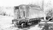 End side view of water car W462 at Chama - ex K-27 tender.<br /> D&amp;RGW  Chama, NM  Taken by Maxwell, John W. - 7/14/1970