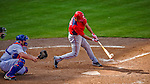 23 February 2013: Washington Nationals infielder Anthony Rendon in Spring Training action against the New York Mets at Tradition Field in Port St. Lucie, Florida. The Mets defeated the Nationals 5-3 in their Grapefruit League Opening Day game. Mandatory Credit: Ed Wolfstein Photo *** RAW (NEF) Image File Available ***