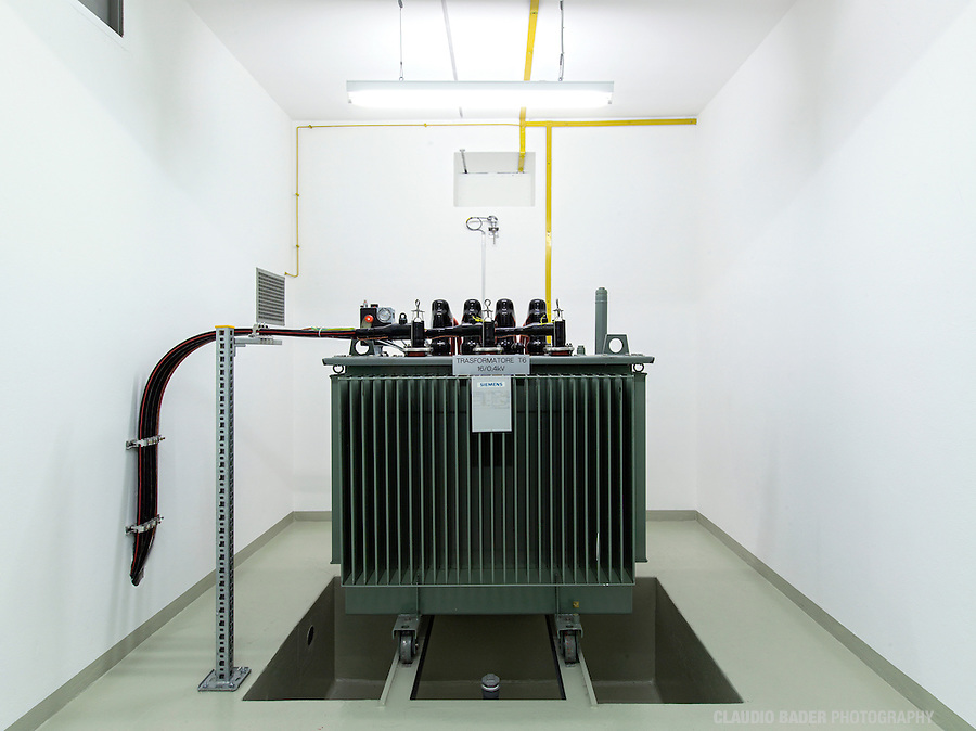 Ofima SA, Centrale Cavergno, Hydroelectrical Power Plant