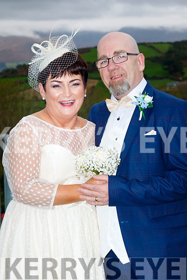 Catherine Cullinane and Henry Donoghue both from Tralee who married in a civil ceremony in the Ballyroe Heights hotel, Tralee last Thursday October 26th. Bestman was Peter Donoghue. 1st bridesmaid was Maria Renardson. The reception was in the hotel and the couple will reside in Tralee.