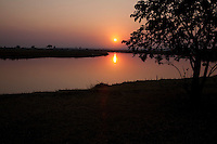 Sunrise at Chobe Savannah Lodge, Namibia
