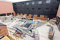 2017-05-30 Renovations Litchfield Hall WCSU | Progress 09