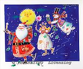 GIORDANO, CHRISTMAS SANTA, SNOWMAN, WEIHNACHTSMÄNNER, SCHNEEMÄNNER, PAPÁ NOEL, MUÑECOS DE NIEVE, paintings+++++,USGI2317,#X#