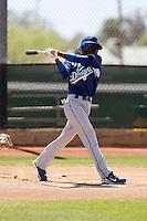 Devaris Gordon - Los Angeles Dodgers - 2009 spring training.Photo by:  Bill Mitchell/Four Seam Images
