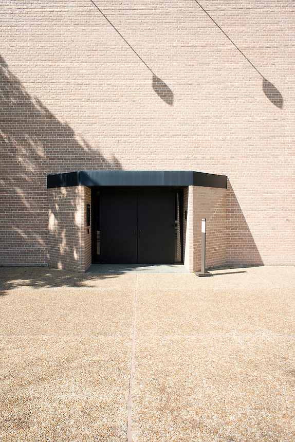 Entrance to the Rothko Chapel in Houston Texas. USA
