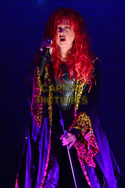 SUNRISE, FL - MAY 17 : Cindi Lauper performs at the BB&amp;T Center on May 17, 2014 in Sunrise Florida. <br /> CAP/MPI04<br /> &copy;MPI04/Capital Pictures