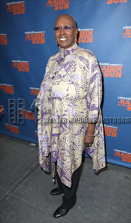 Judith Jamison attending the Broadway Opening Night Performance of 'A Raisin In The Sun'  at the Barrymore Theatre on April 3, 2014 in New York City.