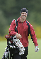 21 May, 2010:   University of Denver's Espen Kofstad was all smiles after hitting an Eagle on hole 10.  Kofstad's Eagle was on his first first hole of the day Friday during the first round of the NCAA West Regionals at Gold Mountain Golf Course in Bremerton, Washington.