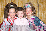 DANCING: Stepping it out in the Feis at the Earl of Desmond Hotel, tralee on Sunday were l-r: Isabel O'Donoghue, Sean Slemon and Aine Connolly..... ..............................   Copyright Kerry's Eye 2008