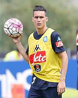Jose Callejon  <br /> ritiro precampionato Napoli Calcio a  Dimaro 13<br /> Luglio 2015<br /> <br /> Preseason summer training of Italy soccer team  SSC Napoli  in Dimaro Italy July 13, 2015