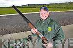 Liam Murphy from Knocknagoshal Gun Range, pictured here last Tuesday afternoon.