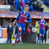 24th March 2018, McDiarmid Park, Perth, Scotland; Scottish Football Challenge Cup Final, Dumbarton versus Inverness Caledonian Thistle; Coll Donaldson of Inverness Caledonian Thistle was the man of the match in the Irn-Bru Cup Final