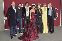 Hugo Weaving, Christian Rivers, Robert Sheehan, Jihae, Hera Hilmar, Leila George and Stephen Lang at the premiere of 'Mortal Engines at the  Regency Village Theatre in Westwood, California on December 5, 2018. Credit: Action Press/MediaPunch ***FOR USA ONLY***