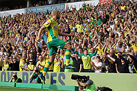 Teemu Pukki of Norwich City gets the first goal of the game to give Norwich the lead during Norwich City vs Middlesbrough, Sky Bet EFL Championship Football at Carrow Road on 15th September 2018