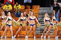 25 February 2012:  FIU's Golden Dazzlers entertain the crowd in the first half as the FIU Golden Panthers defeated the University of South Alabama Jaguars, 81-74, at the U.S. Century Bank Arena in Miami, Florida.