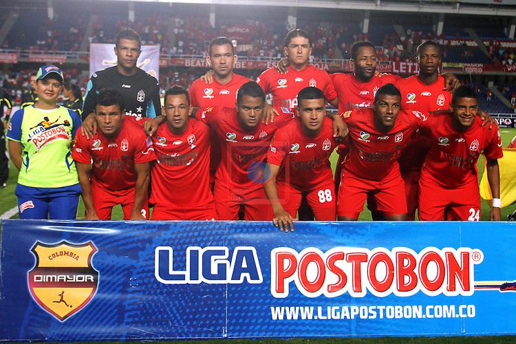 America de Cali team. America de Cali vs Real Cartagena: 2-1 - Liga POSTOBON II 2011/12 - Jornada 17.
