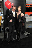 """LOS ANGELES - SEP 5:  Chris Hardwick, Lydia Hearst at the """"It"""" Premiere at the TCL Chinese Theater IMAX on September 5, 2017 in Los Angeles, CA"""