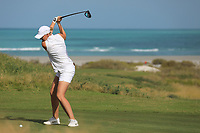 Nanna Koerstz Madsen (DEN) during the final round of the Fatima Bint Mubarak Ladies Open played at Saadiyat Beach Golf Club, Abu Dhabi, UAE. 12/01/2019<br /> Picture: Golffile | Phil Inglis<br /> <br /> All photo usage must carry mandatory copyright credit (&copy; Golffile | Phil Inglis)