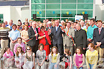 John O'Donoghue, cuts the tape to officially open the new Leisure Centre in Ballybunion on Friday..   Copyright Kerry's Eye 2008