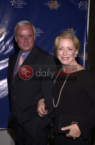 Holland Taylor with Bob Lowry