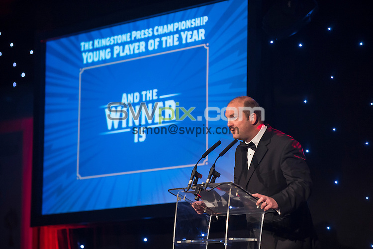 PICTURE BY ALLAN McKENZIE/SWPIX.COM - Rugby - Kingstone Press Championships - Kingstone Press Championships Awards 2013 - Elland Road Stadium, Leeds, England - 260913 - The RFL's Dave Woods.