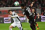 10.03.2018, BayArena, Leverkusen , GER, 1.FBL., Bayer 04 Leverkusen vs. Borussia Moenchengladbach<br /> im Bild / picture shows: <br /> Thorgan Hazard (Gladbach #10),  im Zweikampf gegen  Wendell (Leverkusen #18), <br /> <br /> <br /> Foto &copy; nordphoto / Meuter