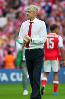 Arsene Wenger Arsenal manager during the FA Cup Final match between Arsenal v Chelsea, Wembley stadium, London on 27th May 2017