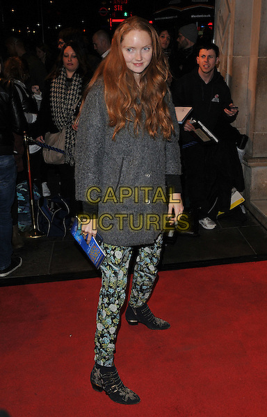 Lily Cole attends the &quot;People, Places and Things&quot; VIP opening night, Wyndham's Theatre, Charing Cross Road, London, UK, on Wednesday 23 March 2016.<br /> CAP/CAN<br /> &copy;Can Nguyen/Capital Pictures
