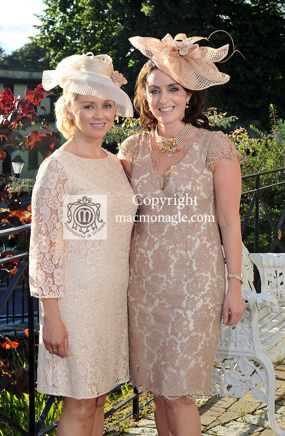 Pictured at the Randles Hotel, Elegance & Decadence Après Race Partyon Thursday evening were Gerladine O'Neill and Marie Chawke, Killarney..Picture by Don MacMonagle..PR photo from Randles Hotel