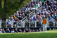 Jordan Spieth (USA) on the 12th green during the 1st round at the PGA Championship 2019, Beth Page Black, New York, USA. 17/05/2019.<br /> Picture Fran Caffrey / Golffile.ie<br /> <br /> All photo usage must carry mandatory copyright credit (&copy; Golffile | Fran Caffrey)