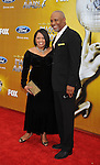 LOS ANGELES, CA. - February 26: Chandra Wilson, James Pickens Jr. arrive at the 41st NAACP Image Awards at The Shrine Auditorium on February 26, 2010 in Los Angeles, California.